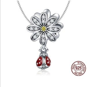 Jewelry - LADY BUG PENDANT AND CHAIN